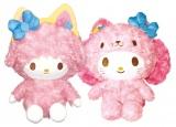 マイメロディとマイスウィートピアノのぬいぐるみ2体セット(ラスト賞)=Happyくじ『Sanrio Animal Collection』※画像はイメージですので、実際の商品とは異なる場合があります。