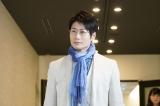 「男子珈琲」飯田正彦(戸次重幸)=テレビ東京系ドラマ『珈琲いかがでしょう』第3話(4月19日放送) (C)「珈琲いかがでしょう」製作委員会