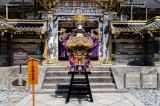日光東照宮の分祀「日光東照宮分霊三日月神輿」