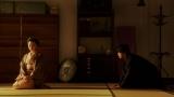 稽古場で一平(成田凌)と話しをする千代(杉咲花)=連続テレビ小説『おちょやん』第20週・第99回より (C)NHK