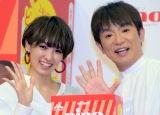 (左から)南明奈、濱口優 (C)ORICON NewS inc.