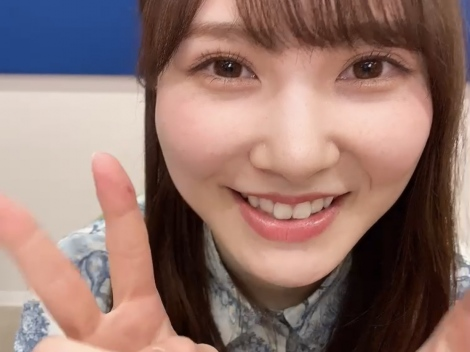 『日向撮』公式ツイッターの動画に登場した日向坂46・加藤史帆