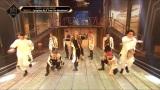 『KINGDOM : LEGENDARY WAR』第3話よりパフォーマンスするATEEZ(C)AbemaTV,Inc.