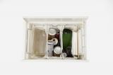 凹凸月袋留めで袋を分けて取り付けることができるため、ゴミ箱内で複数分別可能