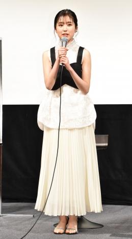 映画『しあわせのマスカット』完成披露試写会に出席した福本莉子 (C)ORICON NewS inc.