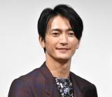 映画『しあわせのマスカット』完成披露試写会に出席した中河内雅貴 (C)ORICON NewS inc.