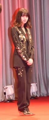 『映画 賭ケグルイ 絶体絶命ロシアンルーレット』の完成披露イベントに登壇した池田エライザ (C)ORICON NewS inc.