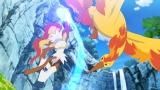 ゴウカザル、ファイヤー(C)Nintendo・Creatures・GAME FREAK・TV Tokyo・ShoPro・JR Kikaku (C)Pokemon