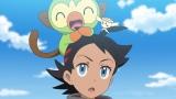 ゴウ&サルノリ、フラベベ(C)Nintendo・Creatures・GAME FREAK・TV Tokyo・ShoPro・JR Kikaku (C)Pokemon