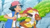 サトシ&ゴウカザル(C)Nintendo・Creatures・GAME FREAK・TV Tokyo・ShoPro・JR Kikaku (C)Pokemon