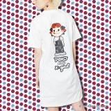 X-girl × PEKO S/S TEE DRESS ¥7,150(税込)