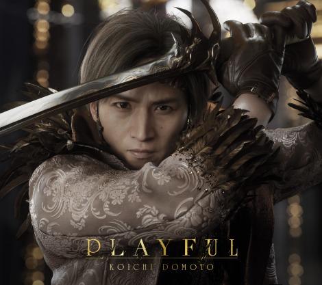 オリジナルアルバム『PLAYFUL』のジャケット写真(初回盤A)