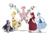 アニメ『魔法少女まどか☆マギカ』10周年記念ビジュアル (C)Magica Quartet/Aniplex・Madoka Partners・MBS