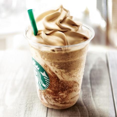 サムネイル スタバの一部店舗で発売されている『コーヒー&クリーム フラペチーノ with コーヒークリームスワール』