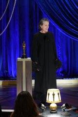 『第93回アカデミー賞』主演女優賞に輝いたフランシス・マクドーマンド (C)Getty Images