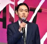 映画『キャラクター』の完成披露記者会見に出席した菅田将暉 (C)ORICON NewS inc.