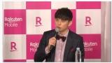 楽天モバイル iPhone発売記念イベントに登場したハリー杉山 (C)ORICON NewS inc.