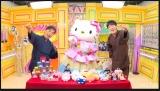 『声優と夜あそび』に出演した(左から)関智一、キティちゃん、畠中祐 (C)ABEMA