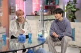 1日放送『あざとくて何が悪いの?』に出演するJO1(左から)白岩瑠姫、鶴房汐恩 (C)テレビ朝日