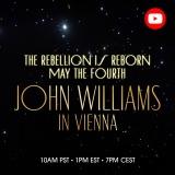 スター・ウォーズの日、5月4日にジョン・ウィリアムズ指揮ウィーン・フィルの『レベリオン・イズ・リボーン』演奏映像をYou Tubeでプレミア公開
