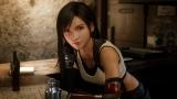 人気キャラクターのティファ=『FINAL FANTASY VII REMAKE』のゲーム画面
