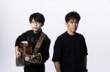 コロナ禍で武井壮(右)が呼びかけ、「♯スポーツを止めるな #音楽を止めるな」アスリートが歌いつなぐ応援ソングをブレイク中のミュージシャン・川崎鷹也(左)と制作中