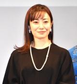 映画『明日の食卓』(28日公開)の完成報告会見に出席した菅野美穂 (C)ORICON NewS inc.