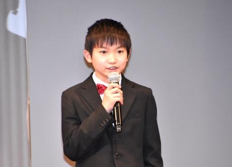映画『明日の食卓』(28日公開)の完成報告会見に出席した外川燎 (C)ORICON NewS inc.