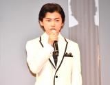 映画『明日の食卓』(28日公開)の完成報告会見に出席した柴崎楓雅 (C)ORICON NewS inc.