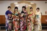 STU48新成人メンバー(左から)兵頭葵、鈴木彩夏、宗雪里香、渡辺菜月、薮下楓(C)STU