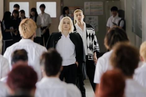 映画『東京リベンジャーズ』場面写真が解禁(C)和久井健/講談社(C)2020 映画「東京リベンジャーズ」製作委員会