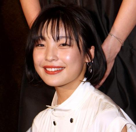 映画『37セカンズ』初日舞台あいさつに登場した芋生悠 (C)ORICON NewS inc.