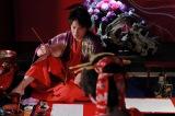 まだ何者でもない若き日の葛飾北斎に大きな刺激を与える美人画の大家・喜多川歌麿(玉木宏) (C)2020 HOKUSAI MOVIE