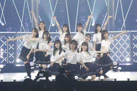 乃木坂46の3期生12人が加入から4年半、一人も欠けることなく単独ライブを開催