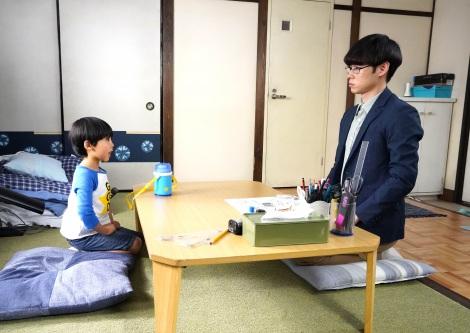 『コタローは1人暮らし』第3話より(左から)川原瑛都、戸塚純貴(C)テレビ朝日