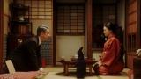 千代(杉咲花)と春子の家に熊田(西川忠志)が訪ねてきて…(C)NHK