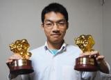『高校生クイズ』スペシャルパーソナリティーに就任した伊沢拓司の高校生時代(C)日本テレビ