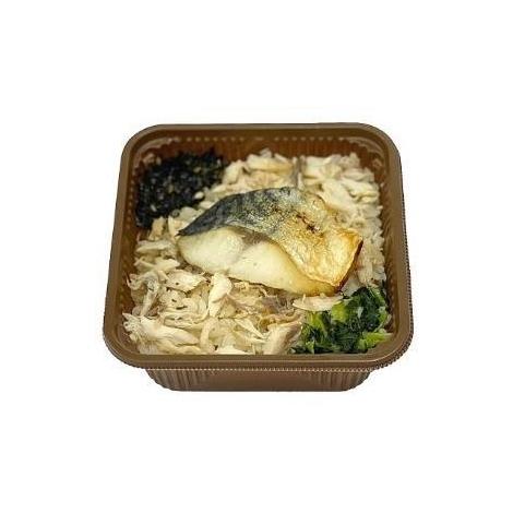 11日より発売される「一膳ごはん 脂の乗った炙り焼きさば」(税込270円)