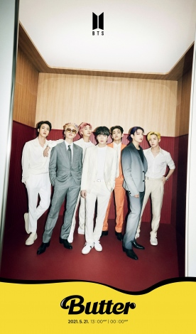 BTSのニューシングル「Butter」グループティーザーフォト公開(C)BIGHIT MUSIC