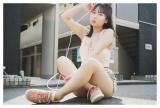『BUBKA』6月号の表紙を飾るHKT48・田中美久(セブンネットショッピング限定特典ポストカード)