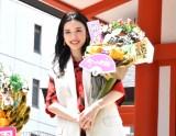 映画『地獄の花園』(5月21日公開)の大ヒット祈願イベントに出席した永野芽郁 (C)ORICON NewS inc.