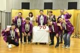 三宅裕司(中央)の生誕70周年を祝した前日祭イベント『「趣味入院・特技退院」な60代を乗り越え、不死鳥の70歳になりました!!』より