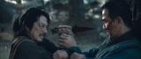 """映画『モータルコンバット』(6月18日公開)激しい戦いを繰り広げる""""ハサシ・ハンゾウ/スコーピオン""""(真田広之)(C)2021 Warner Bros. Entertainment Inc. All Rights Reserved"""