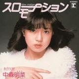 中森明菜のデビューシングル「スローモーション」(1982年5月1日発売)