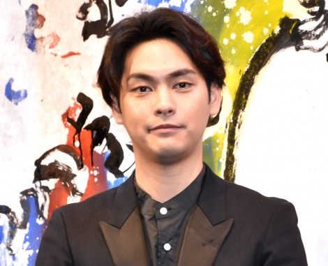 映画『HOKUSAI』のトークイベントに出席した柳楽優弥 (C)ORICON NewS inc.