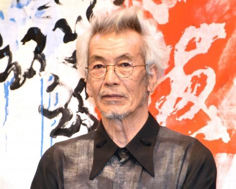 映画『HOKUSAI』のトークイベントに出席した田中泯 (C)ORICON NewS inc.