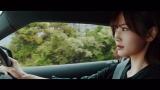 3代目スープラに乗る山下美月=乃木坂46の27thシングル「ごめんねFingers crossed」MVより