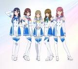 劇中に登場するPaRetのキャラクターデザイン=岡山国際サーキット30周年記念ショートアニメ『ヘアピンダブル』2021年秋公開予定