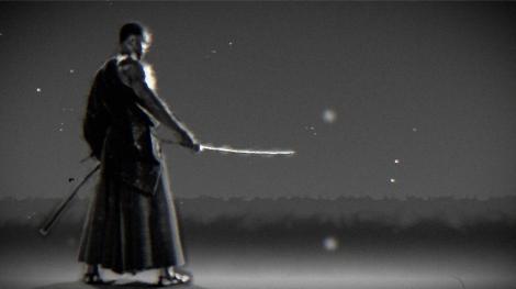 弥助のイメージシルエットCG =『Black Samurai 〜信長に仕えたアフリカン侍・弥助〜』5月15日、BSプレミアムで放送 (C)NHK