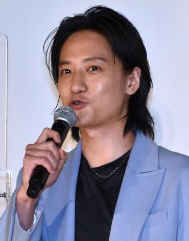 『くれなずめ』の公開記念舞台あいさつに登壇した藤原季節 (C)ORICON NewS inc.